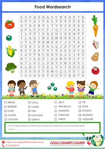 Our Food Wordsearch
